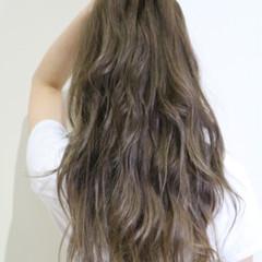 グラデーションカラー 外国人風 ロング ハイライト ヘアスタイルや髪型の写真・画像