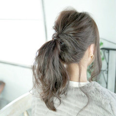 簡単ヘアアレンジ ヘアアレンジ ストリート 大人女子 ヘアスタイルや髪型の写真・画像