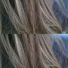 グラデーションカラー ロング ハイライト 渋谷系 ヘアスタイルや髪型の写真・画像