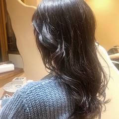 ラベンダーアッシュ ラベンダーグレージュ ラベンダーグレー ラベンダーカラー ヘアスタイルや髪型の写真・画像