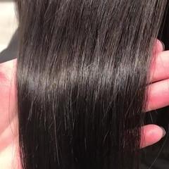 デート ナチュラル ヘアアレンジ 黒髪 ヘアスタイルや髪型の写真・画像