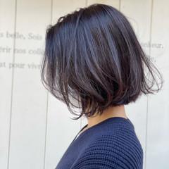 ボブ インナーカラー ショートヘア ショートボブ ヘアスタイルや髪型の写真・画像