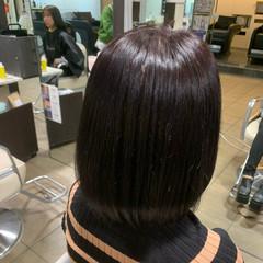 艶髪 暗髪 暗髪女子 ボブ ヘアスタイルや髪型の写真・画像