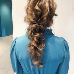 大人かわいい デート フェミニン ヘアアレンジ ヘアスタイルや髪型の写真・画像