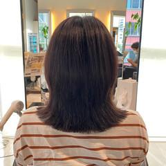 抜け感 外ハネ 艶髪 レイヤーカット ヘアスタイルや髪型の写真・画像