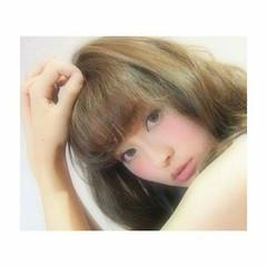 前髪あり 大人かわいい フェミニン ナチュラル ヘアスタイルや髪型の写真・画像
