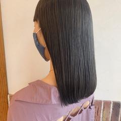 ダブルカラー アッシュグレージュ アッシュグレー ナチュラル ヘアスタイルや髪型の写真・画像