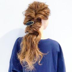 ロング ヘアアレンジ ショート 上品 ヘアスタイルや髪型の写真・画像