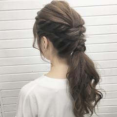 上品 エレガント 大人かわいい ヘアアレンジ ヘアスタイルや髪型の写真・画像