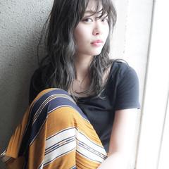 大人かわいい 透明感 秋 フェミニン ヘアスタイルや髪型の写真・画像