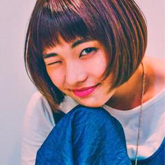 ピュア 色気 外国人風 前髪あり ヘアスタイルや髪型の写真・画像
