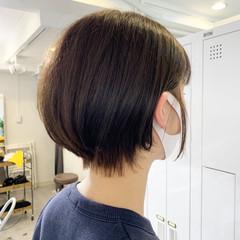 ハンサムショート 小顔ショート ショート ストリート ヘアスタイルや髪型の写真・画像