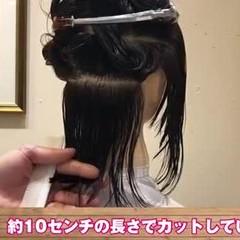 ニュアンスウルフ ナチュラルウルフ ストリート ネオウルフ ヘアスタイルや髪型の写真・画像