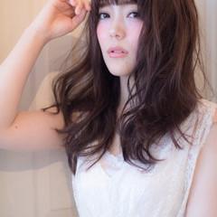 大人かわいい 外国人風 フェミニン モテ髪 ヘアスタイルや髪型の写真・画像