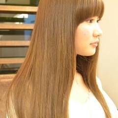 ストレート ピュア ナチュラル ロング ヘアスタイルや髪型の写真・画像