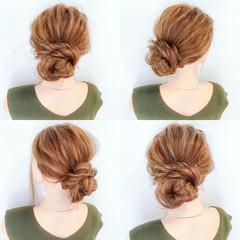 涼しげ デート フェミニン 結婚式 ヘアスタイルや髪型の写真・画像