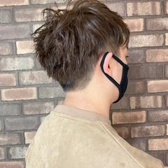 メンズヘア メンズカラー ショート メンズカット ヘアスタイルや髪型の写真・画像