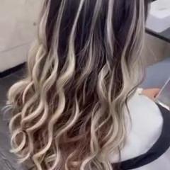 ヘアアレンジ ヘアセット ロング エレガント ヘアスタイルや髪型の写真・画像