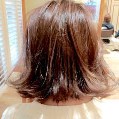大人かわいい アッシュ ストリート ボブ ヘアスタイルや髪型の写真・画像