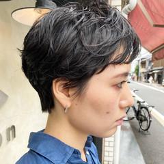 ショートヘア ショートボブ マッシュ ショート ヘアスタイルや髪型の写真・画像