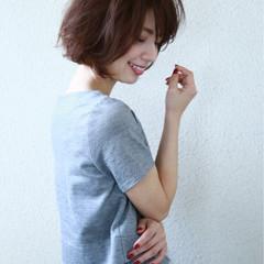 大人女子 セミロング 外ハネ ウェットヘア ヘアスタイルや髪型の写真・画像