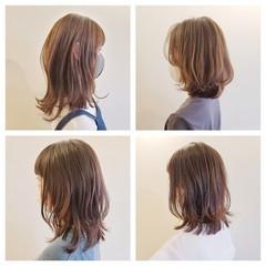 ナチュラル ヘアカット レイヤーヘアー レイヤーカット ヘアスタイルや髪型の写真・画像