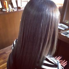 ロング ブルージュ 外国人風 暗髪 ヘアスタイルや髪型の写真・画像