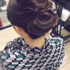 エレガント ヘアアレンジ ロング 和装 ヘアスタイルや髪型の写真・画像