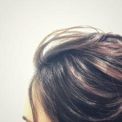 ラフ 成人式 セミロング 結婚式 ヘアスタイルや髪型の写真・画像
