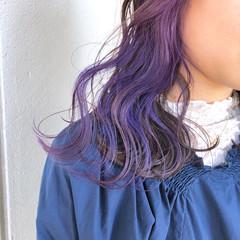 ゆるふわ 外ハネ 透明感 外国人風カラー ヘアスタイルや髪型の写真・画像