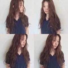 くせ毛風 ストリート ピュア ハイライト ヘアスタイルや髪型の写真・画像
