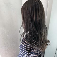 簡単ヘアアレンジ ショートボブ セミロング 切りっぱなしボブ ヘアスタイルや髪型の写真・画像