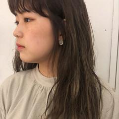 ナチュラル 透け感ヘア ロングヘアスタイル ロング ヘアスタイルや髪型の写真・画像