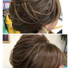 夜会巻 上品 アップスタイル 色気 ヘアスタイルや髪型の写真・画像