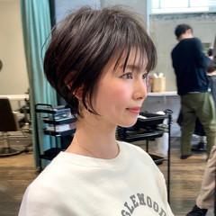 大人ショート ショートヘア 30代 ショート ヘアスタイルや髪型の写真・画像