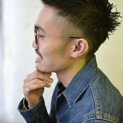 ショート 前髪なし かっこいい ストリート ヘアスタイルや髪型の写真・画像