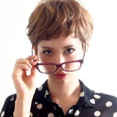 小顔 ナチュラル デート 外国人風 ヘアスタイルや髪型の写真・画像