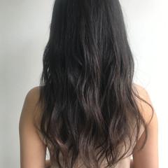 透明感カラー ロング アンニュイほつれヘア 外国人風カラー ヘアスタイルや髪型の写真・画像