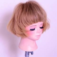 ナチュラル ショート モード 卵型 ヘアスタイルや髪型の写真・画像