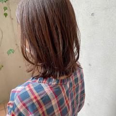 デジタルパーマ ナチュラル ゆるふわパーマ ボブ ヘアスタイルや髪型の写真・画像