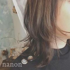 フェミニン 秋 大人かわいい アッシュ ヘアスタイルや髪型の写真・画像