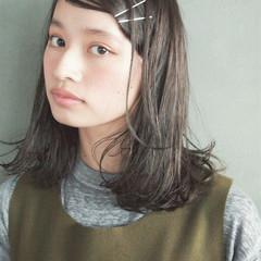 パーマ ナチュラル ブラウン 外国人風 ヘアスタイルや髪型の写真・画像