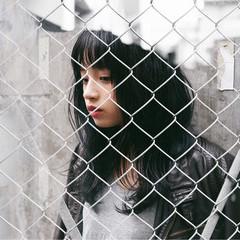 ストリート 秋 前髪あり 暗髪 ヘアスタイルや髪型の写真・画像