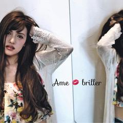 ロング アッシュ 外国人風 夏 ヘアスタイルや髪型の写真・画像