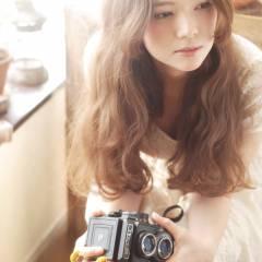 ゆるふわ コンサバ グラデーションカラー 愛され ヘアスタイルや髪型の写真・画像