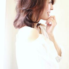 ゆるふわ コンサバ 色気 大人かわいい ヘアスタイルや髪型の写真・画像