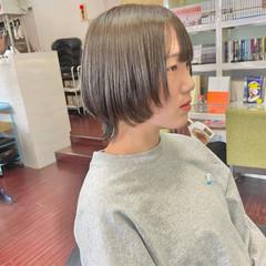 ウルフ女子 ウルフカット マッシュウルフ ショート ヘアスタイルや髪型の写真・画像