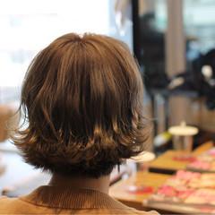 外ハネ ナチュラル かわいい ゆるふわ ヘアスタイルや髪型の写真・画像