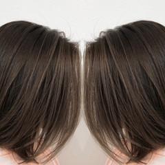 3Dハイライト 外国人風カラー ショートヘア バレイヤージュ ヘアスタイルや髪型の写真・画像