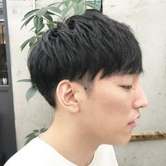 ショートヘア マッシュショート メンズカット 刈り上げ ヘアスタイルや髪型の写真・画像